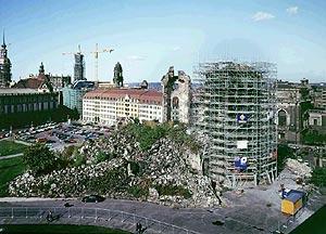 Реставрация Фрауэнкирхе (Wiederaufbau der Frauenkirche)