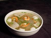 Суп-пюре из креветок. Швейцаркие рецепты