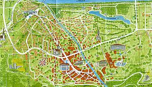 Карта Местности Бад-Рагаца
