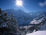Адельбоден-Фрутиген. Бернские Альпы. Швейцария