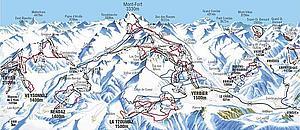 Снежные дороги Вале. Швейцария