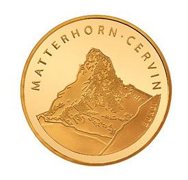 Монета Маттерхорн. Швейцария