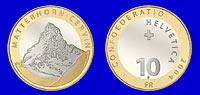 Новая памятная монета Швейцарии посвящена Маттерхорну
