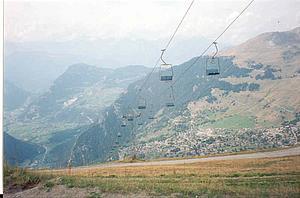 Вербье. Кантон Вале. Швейцария