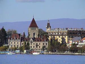 Лозанна. Кантон Во. Швейцария