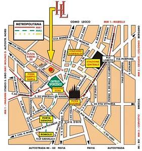Карта города Лозанны. Кантон Во. Швейцария