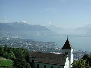 Монтрё. Кантон Во. Швейцария