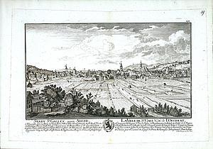 Санкт-Галлен вечером. 1758
