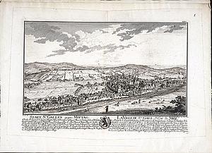 Санкт-Галлен днем. Восточная Швейцария. 1758 г.