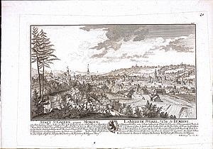 Санкт-Галлен утром. Восточная Швейцария. 1758 г.