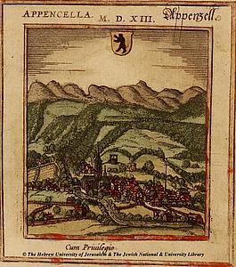 Аппенцелль. Восточная Швейцария. 1572