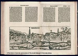 Вена. 1493. Источник: Hartmann Schedel Liber chronicarum XCIX