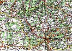 Карты Заарланда