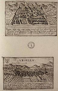 Ури. Швейцария. Valegio Francesco, 1625