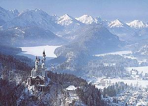 Замок Нойшванштайн (Neuschwanstein)