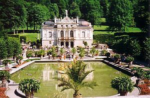 Замок Линдерхоф (Linderhof)