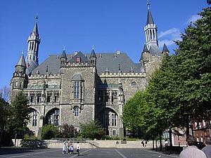 Ахен (Aachen) Ратуша