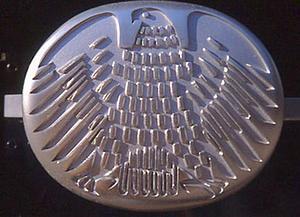 Бонн (Bonn) Türgriff am ehemaligen Deutschen Bundestag