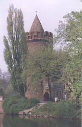 Бранденбург Башня Штайнтортюрм