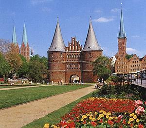 Любек (Lübeck) Хольстентор