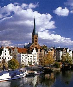 Любек (Lübeck) Церковь Св. Петра