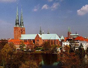 Любек (Lübeck) Кафедральный собор