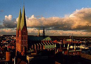 Любек (Lübeck) Мариенкирхе