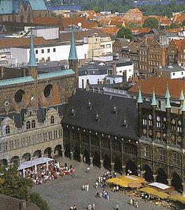 Любек (Lübeck) Ратуша