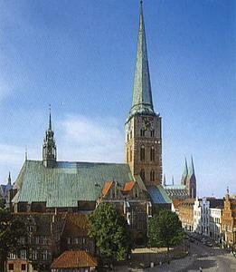 Любек (Lübeck) Якобикирхе