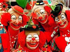 В столице карнавального шутовства - Кёльне - буйство продолжается с четверга по вторник