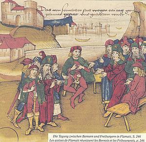 Совещание между Берном и Фрайбургом в Flamatt