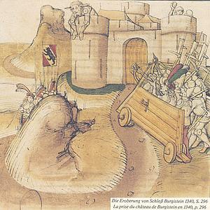 Взятие замка Бюргиштайн